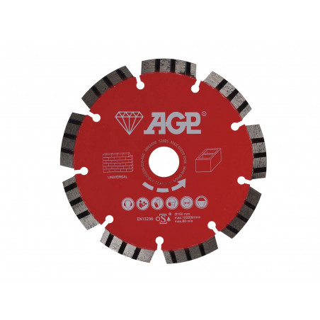 Diamantový řezný kotouč 150mm pro AGP CG150