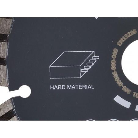 Diamantový řezný kotouč 150mm (tvrdé materiály) pro AGP CG150