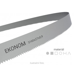 Pilový pás Wikus EKONOM 3160x27x0,9mm (pro PMS 270/350 SAD/HAD)