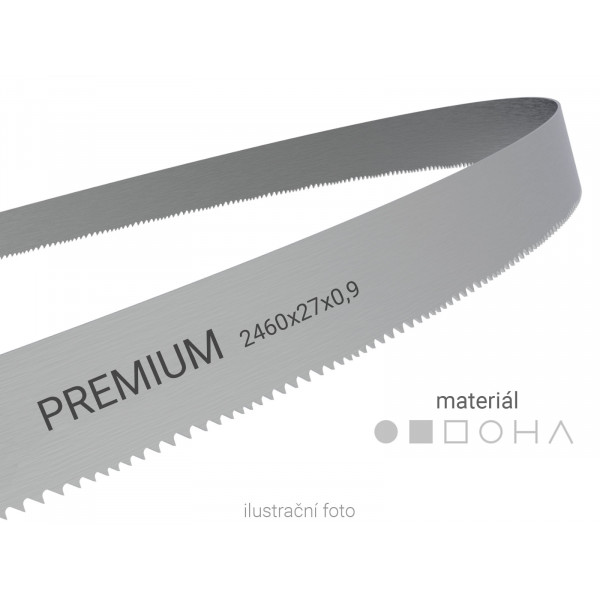 Pilový pás Wikus PREMIUM 2460x27x0,9mm (pro PMS 230/260 MO/SAD/HAD)