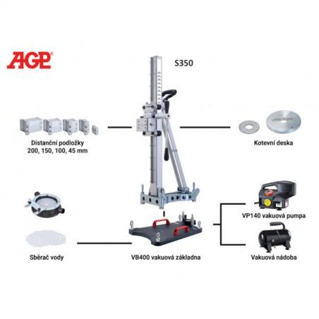 Sběrač vody s membránami pro stojan AGP AS200