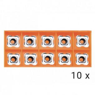 Karbidové břitové destičky R3,5 10x (AGP HP1400,EB6T)