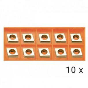 Karbidové břitové destičky rovné 10x (AGP EB12)