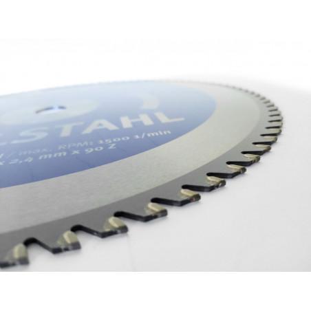 Pilový kotouč na ušlechtilou ocel NEREZ (pro DRC355) - Metallkraft 90Z