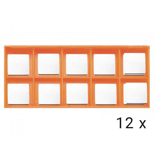 Karbidové břitové destičky rovné 12x (AGP EB24R)