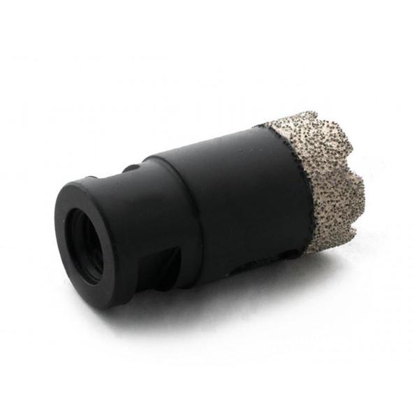 Diamantová jádrová vrtací korunka pro mokré i suché vrtání do dlažby, kamene, skla