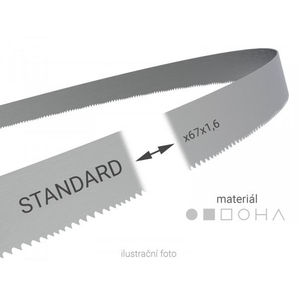 Pilový pás svařovaný na míru Wikus STANDARD 67x1,6mm