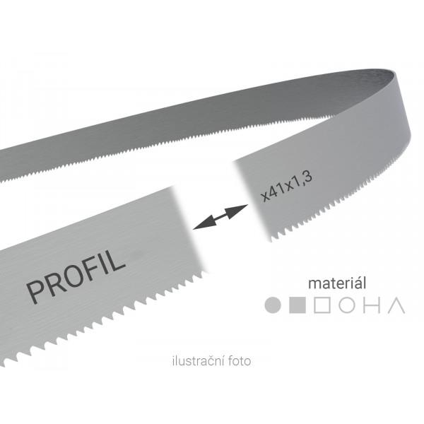 Pilový pás svařovaný na míru Wikus PROFIL 41x1,3mm