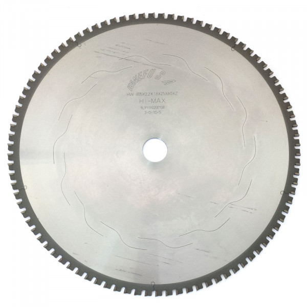 Pilový kotouč na kov PROFI-L 405mm - Kanefusa 100Z