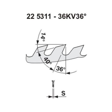 Pilový kotouč na dřevo 5311 – 36KV36°