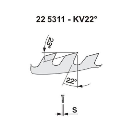 Pilový kotouč na dřevo 5311 – KV22°