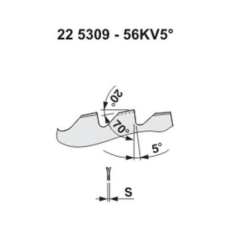 Pilový kotouč na dřevo 5309 – 56KV5°