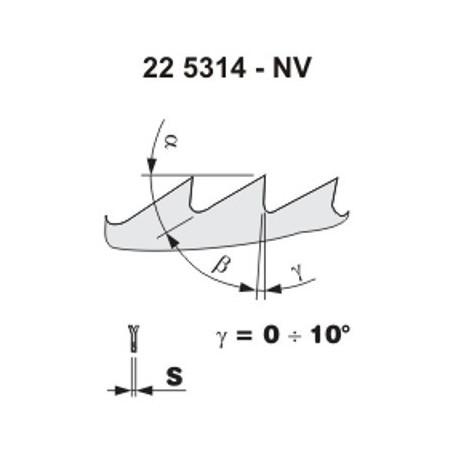 Pilový kotouč na dřevo 5314 – NV