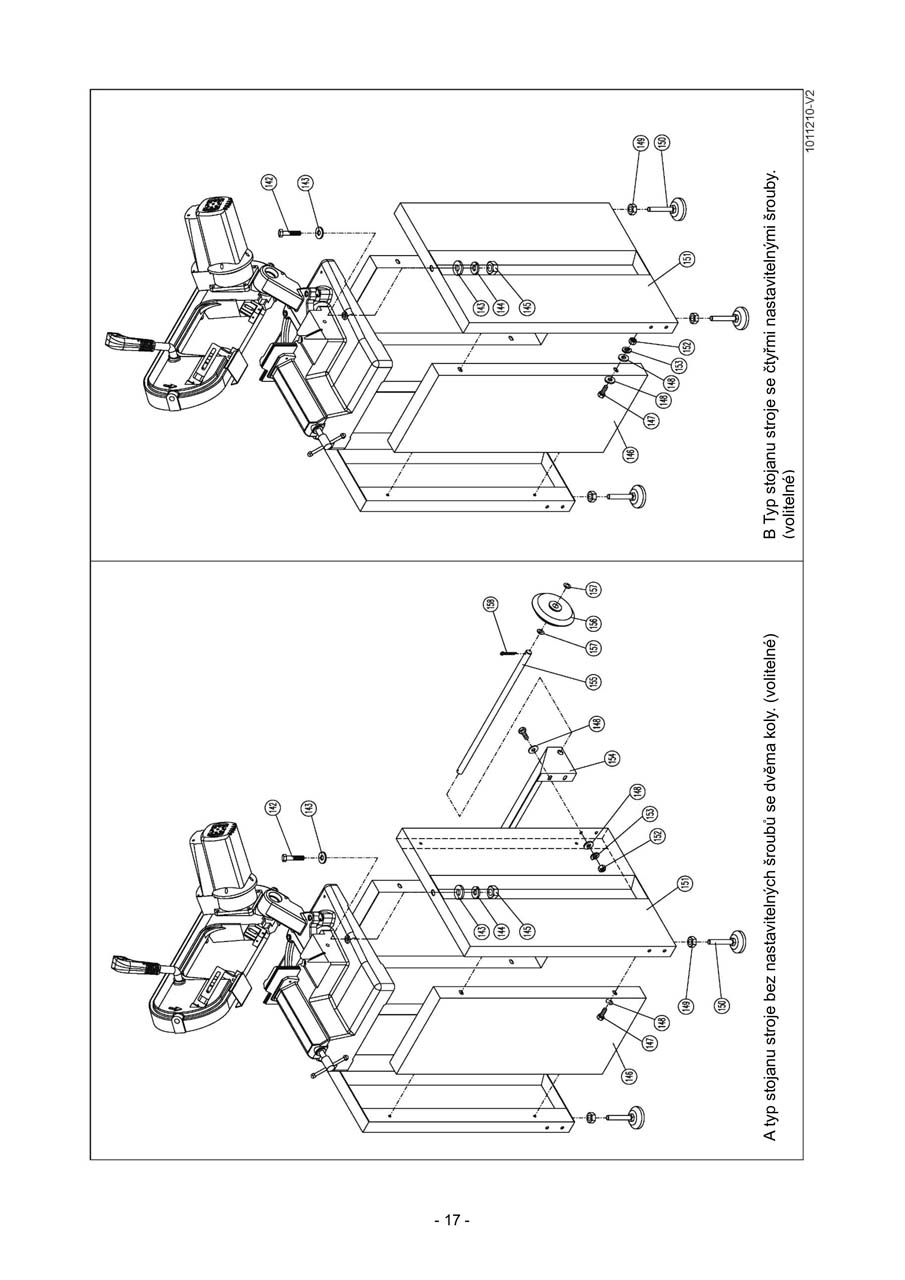 PMS-150-170-MO-bil (seznam-dilu)